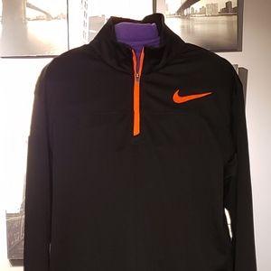 Nike New Men DRI FIT Long Sleeve Black